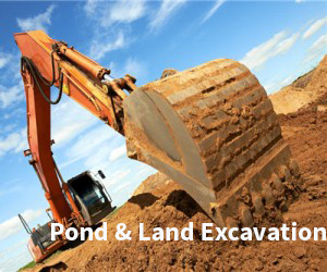 Pond and Land Excavation Services